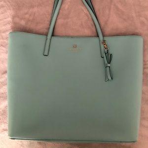 kate spade medium teal shoulder bag